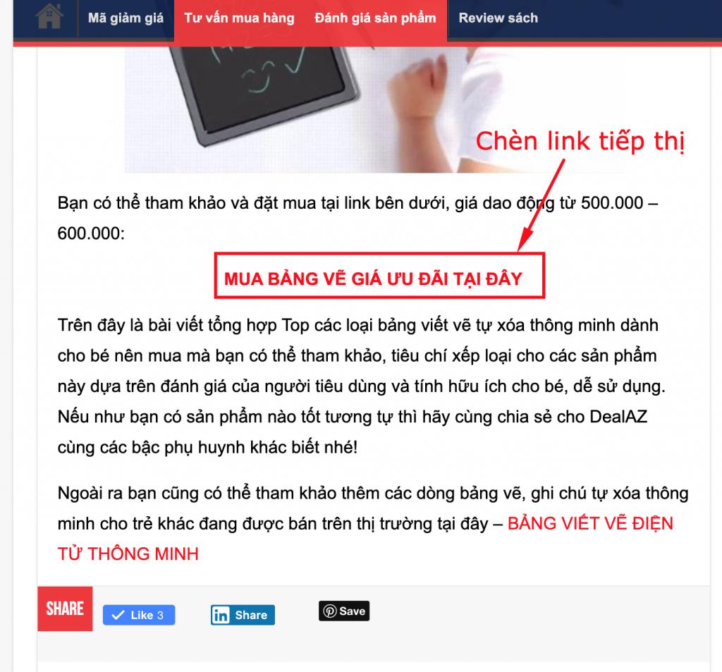 Kiếm tiền với trang web review, đánh giá sản phẩm hoặc dịch vụ 11