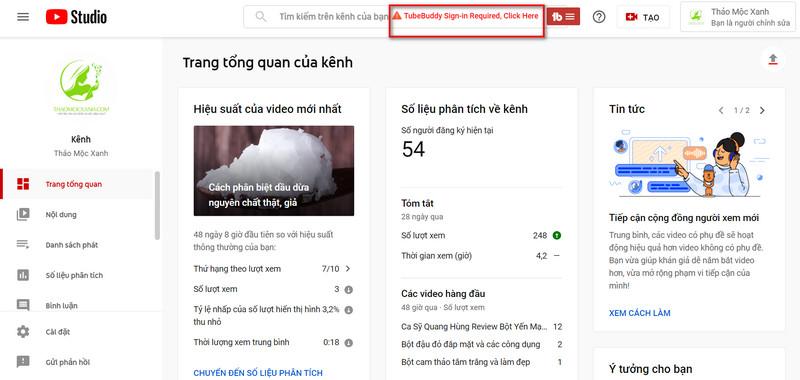 Hướng dẫn SEO Youtube làm MMO bằng công cụ TubeBuddy với chi phí 0đ